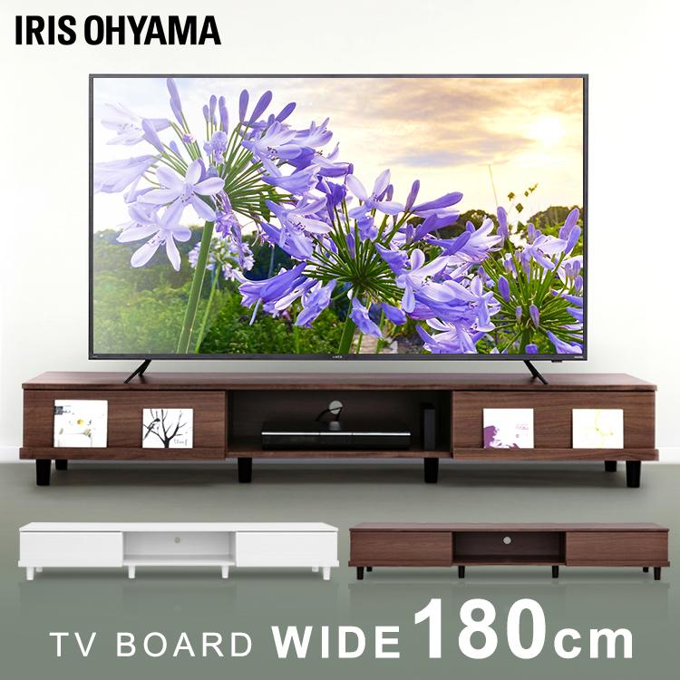 テレビ台 木製テレビ台 BAB-180A ボックスタイプ ボックスタイプ 全2色送料無料 テレビボード TV台 棚 ローボード木製 おしゃれ シンプル 収納 アイリスオーヤマ