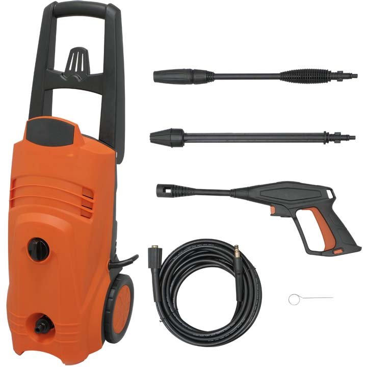 送料無料 高圧洗浄機 FIN-801EHG-D(50Hz 東日本専用)・FIN-801WHG-D(60Hz 西日本専用) オレンジ アイリスオーヤマ