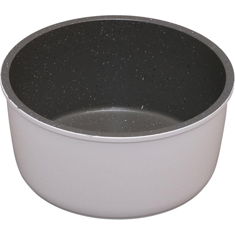フライパン 鍋 キッチンシェフ KITCHEN CHEF セット コーティング ダイヤモンドコート ダイヤモンドコーティング ダイヤモンドコートパン 16cm ホワイト IH対応 ISN-P16 在庫あり マーブル アイリスオーヤマ IH 公式ストア 焦げ付かない