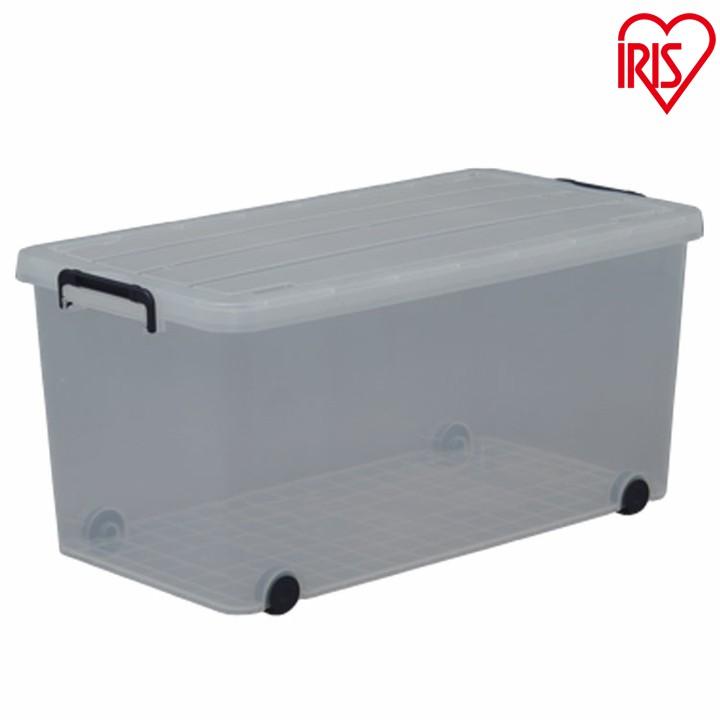 収納ボックス フタ付き 6個セット 収納ケース送料無料 タフキャリーTFC-390 ネイビー クリア アイリスオーヤマ 新生活