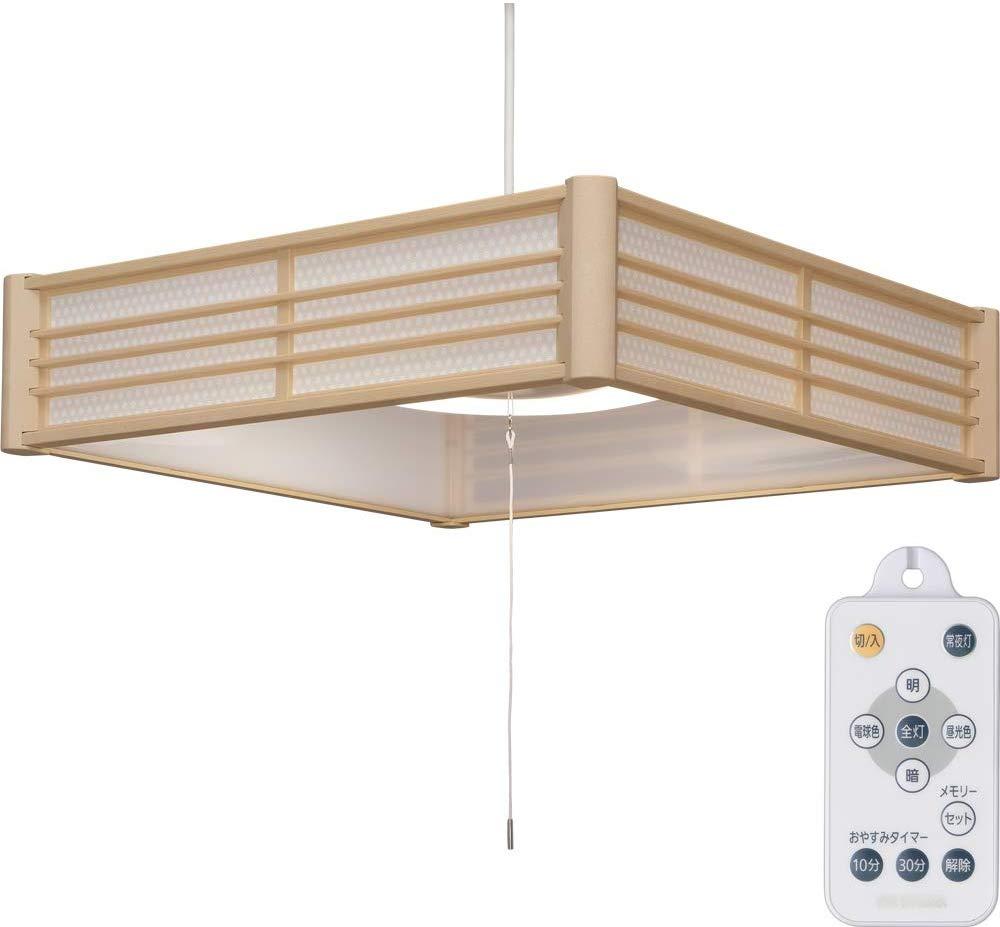 【2個セット】和風ペンダントライト メタルサーキットシリーズ 6畳 調色 PLM6DL-KG PLM6DL-SK 籠目 青海波送料無料 LEDペンダントライト LEDライト ペンダントライト LED照明 LED 照明 和室 和モダン 和風ライト おしゃれ 調光 リモコン アイリスオーヤマ
