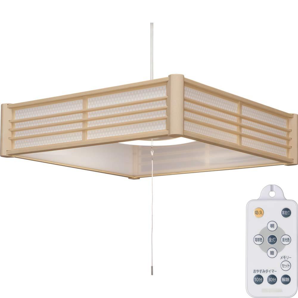 【2個セット】和風ペンダントライト メタルサーキットシリーズ 8畳 調色 PLM8DL-KG PLM8DL-SK 籠目 青海波送料無料 LEDペンダントライト LEDライト ペンダントライト LED照明 LED 照明 和室 和モダン 和風ライト おしゃれ 調光 リモコン アイリスオーヤマ