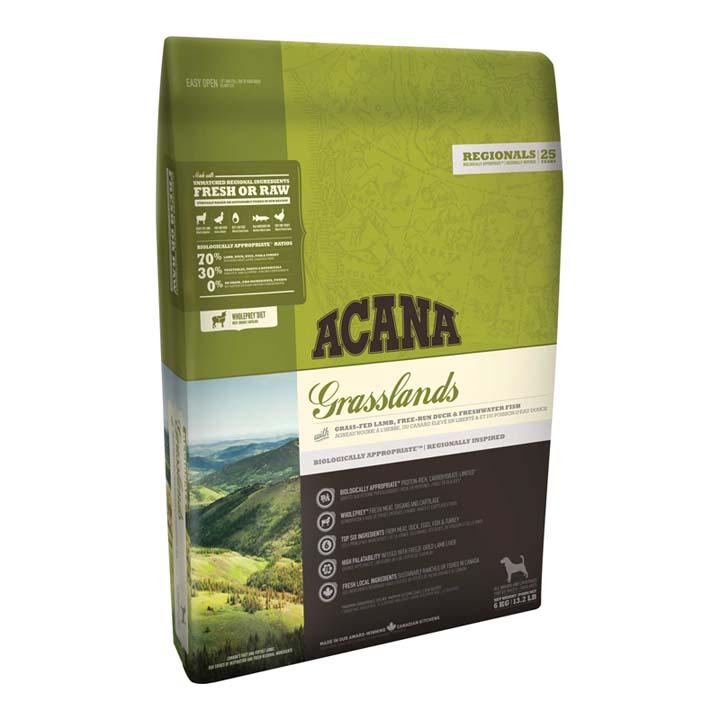 アカナ グラスランドドッグ 6kg 穀物不使用 全犬種用 犬 フード ドライ ドッグフード ペットフード 穀物フリー グレインフリー ACANA 【D】