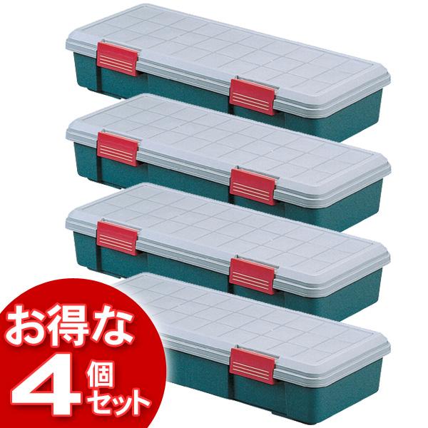 【4個セット】(工具ケース)RV BOX900Fグレー/ダークグリーン【アイリスオーヤマ】【送料無料】