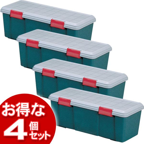 【4個セット】(工具ケース)RV BOX900Dグレー/ダークグリーン【アイリスオーヤマ】【送料無料】