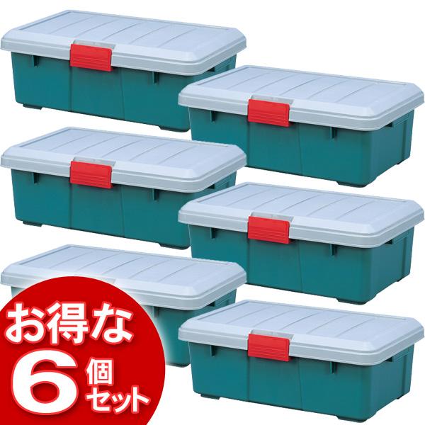 【6個セット】(工具ケース)RV BOX600Fグレー/ダークグリーン【アイリスオーヤマ】【送料無料】 [cpir]