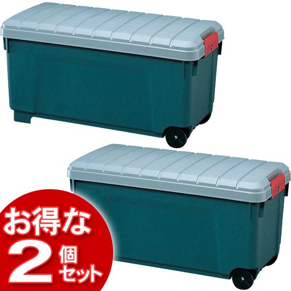 【2個セット】(工具ケース)RV BOX1000グレー/ダークグリーン【アイリスオーヤマ】【送料無料】