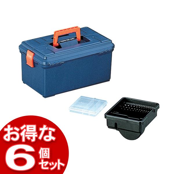 【6個セット】アイリスパワーツールケース 400D ブルー【アイリスオーヤマ】【送料無料】
