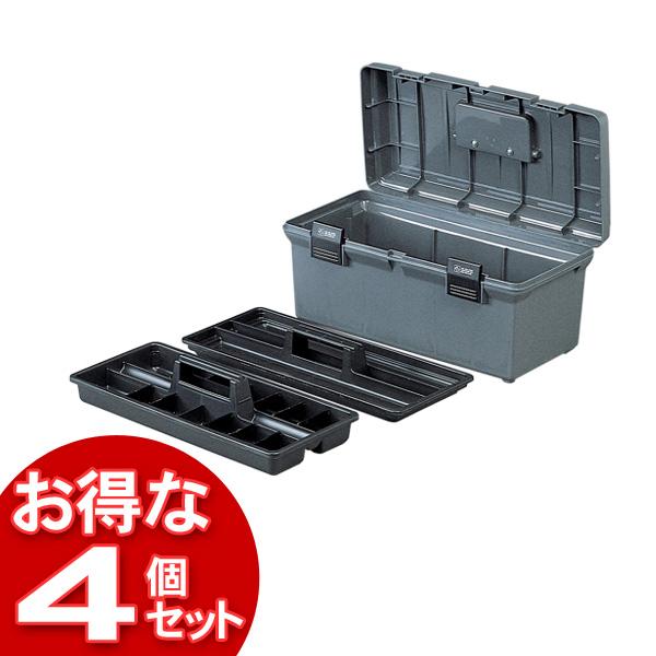 【4個セット】ハードケース 500 グレー【アイリスオーヤマ】【送料無料】