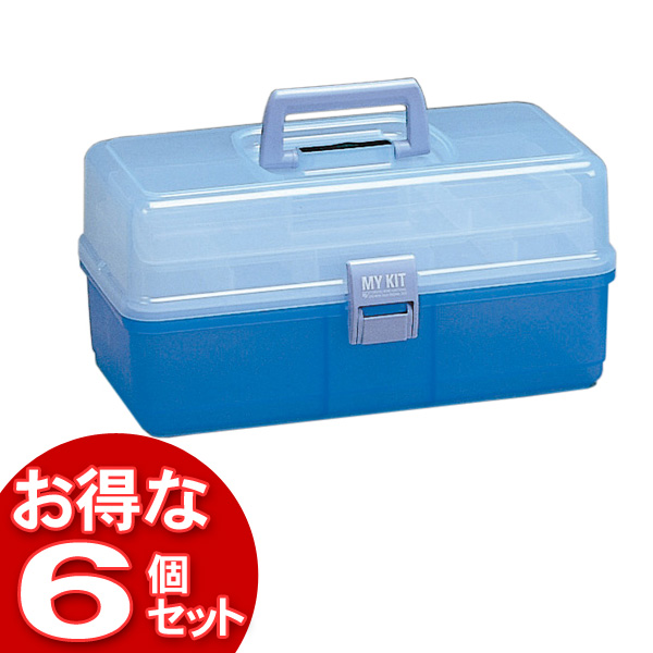【6個セット】マイキット360クリアブルー【アイリスオーヤマ】【送料無料】