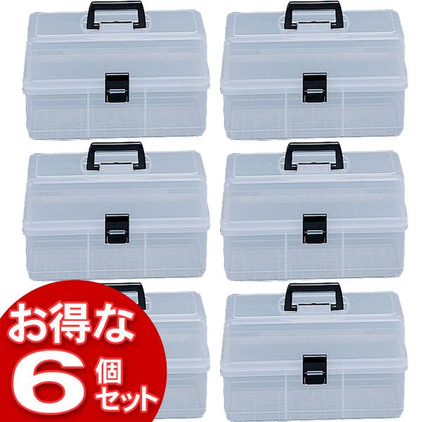 【6個セット】フリーケースF-10クリア【アイリスオーヤマ】【送料無料】