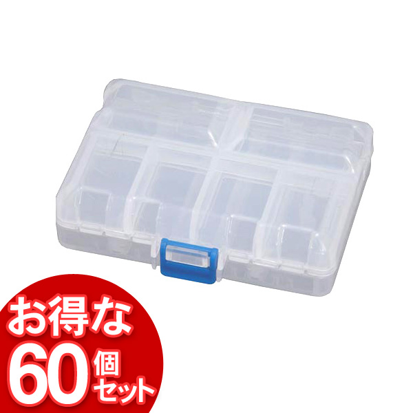 【60個セット】クリアピルケースCPC-1030Sクリア【アイリスオーヤマ】【送料無料】