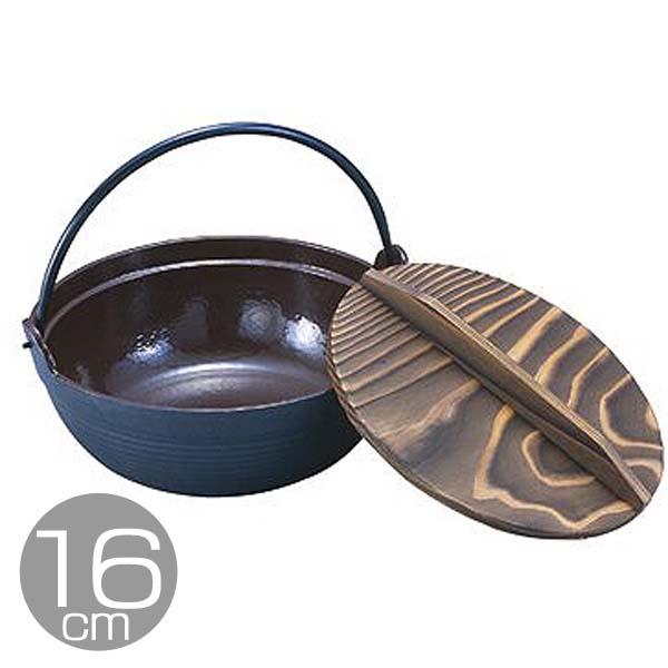 IK電調専科 深型鍋(内茶ホーロー仕上) 30cm QHK3030【TC】【en】【送料無料】