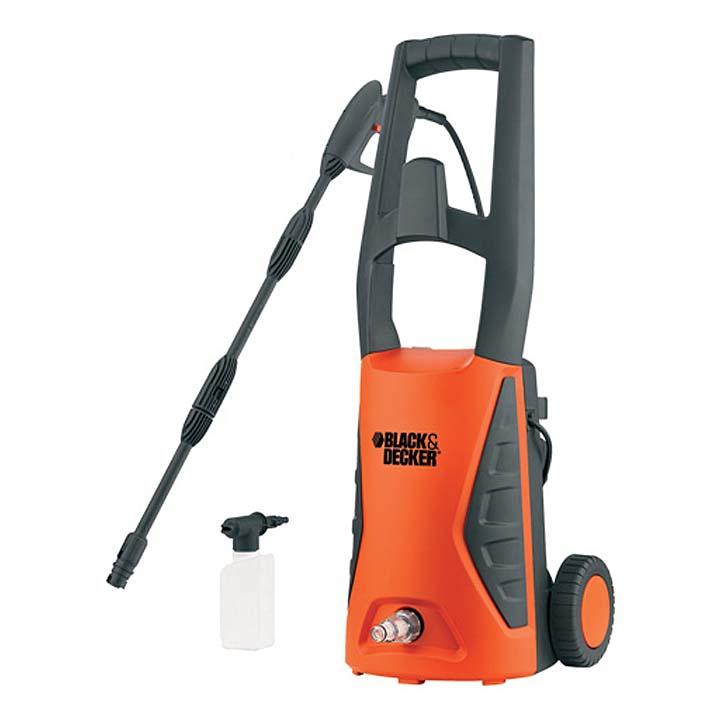 高圧洗浄機 クイックコネクトコンパクトワゴン オレンジ PW1570TD送料無料 電動工具 ブラックアンドデッカー 掃除 水やり BLACK+DECKER 【D】