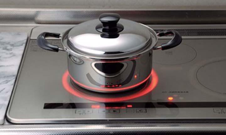 ヨシカワ ブランシェ 両手鍋22cm SJ1935 両手鍋 IH対応 ガス火対応 ステンレス製 なべ キッチン用品 日本製
