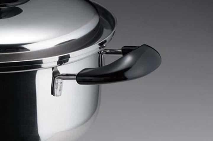 ヨシカワ ブランシェ 両手鍋24cm SJ1936 両手鍋 IH対応 ガス火対応 ステンレス製 なべ キッチン用品 日本製