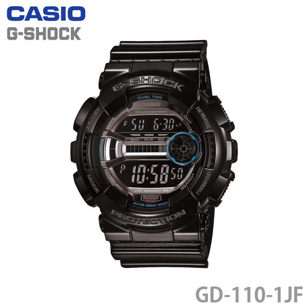 【送料無料】カシオ〔CASIO〕G-SHOCK GD-110-1JF〔ジーショック 腕時計 GSHOCK〕【HD】【TC】 [CAWT]【532P17Sep16】