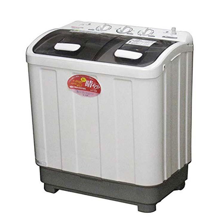 2槽式小型洗濯機 新!晴やか ホワイト AHT-32送料無料 洗濯機 オフィス 一人暮らし 1人暮らし 脱水 スニーカー 家庭用 省スペース 事務所 2層式 ALUMIS アルミス 【TD】 【代引不可】
