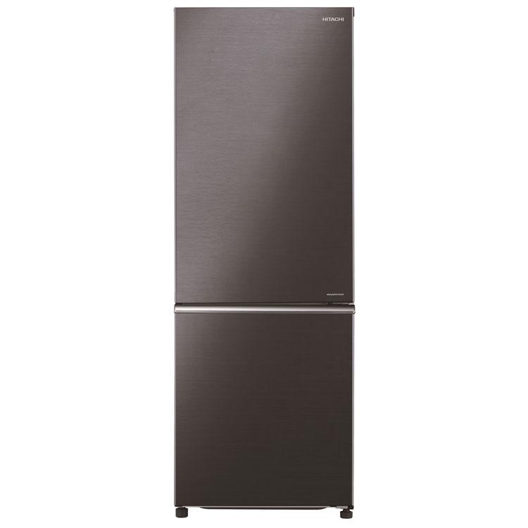 冷蔵庫 275L R-BF28JA K送料無料 冷蔵庫 275L 冷凍庫 脱臭 たっぷり収納 省エネ 2ドア 温度設定 日立【D】