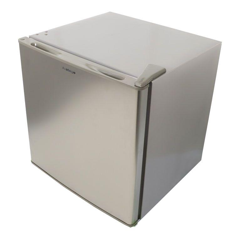 冷凍庫 A-stage 1ドア 32L シルバー WRE-F1032SL送料無料 冷凍庫 直冷式 左右ドア開き 1ドア コンパクト 小型冷凍庫 前開き式 32L シルバー WRE-F1032 【D】