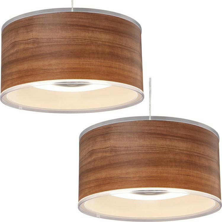 [2個セット]デザインペンダントライト 深型 12畳 調光 PLM12D-FDWN・O 木枠 木目 送料無料 LEDペンダントライト 12畳 調光 LEDシーリングライト LEDライト シーリングライト LED照明 LED 照明 ア