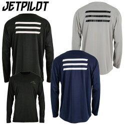 ルーズにゆったりしたシルエットで 着心地の良いJET PILOTの長袖ハイドロTシャツ 2020新作 UPF 50+で紫外線を99%カットし マリンスポーツだけでなく日常でも大活躍します JETPILOT ジェットパイロット HYPED L ジェットスキー HYDRO メンズ JA21615 TEE ジム S ハイドロTシャツ 長袖 ランニング お歳暮
