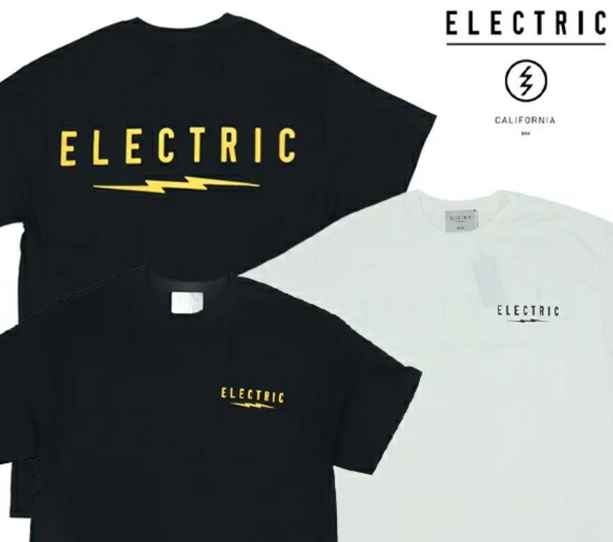 オープンエンドのベーシックなTシャツです 贈呈 Tシャツ ELECTRIC エレクトリック 70%OFFアウトレット UNDER TEE 半袖TEE LOGO VOLT