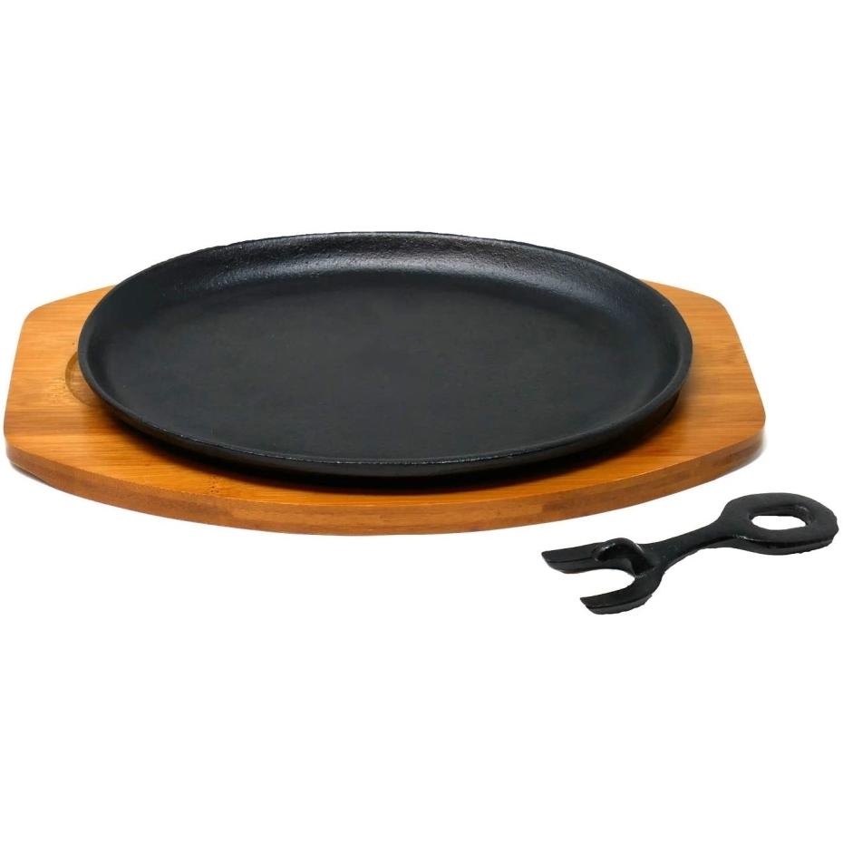 祝開店大放出セール開催中 自宅でレストラン気分が味わえる鉄鋳物製ステーキ皿 イシガキ産業 3975 鉄鋳物大判ステーキ皿 1枚組 ランキングTOP5 IH オーブン対応
