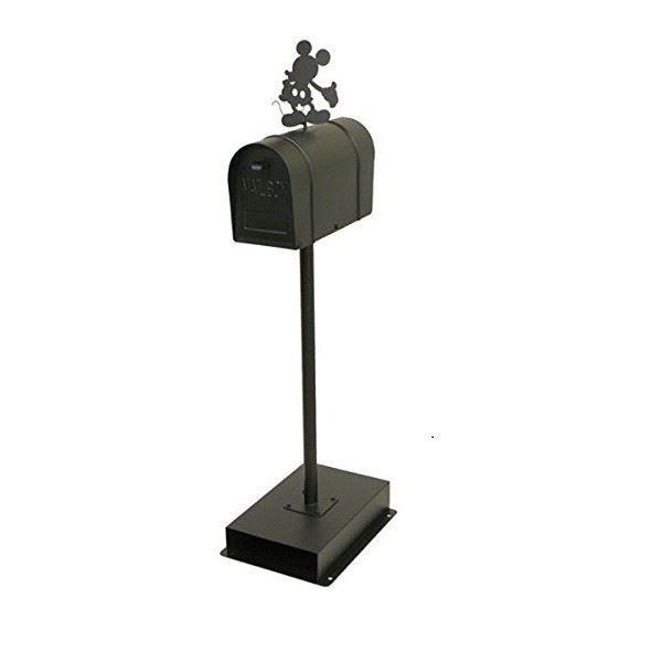 アメリカンスタンドポストミッキーブラックSD-6055-BK-3400 【商品代引きご利用不可】