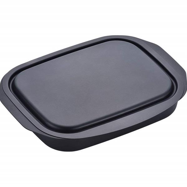 ガステーブルの魚焼きグリルを有効活用 和平フレイズ ランチーニ 人気ブランド多数対象 RA-9505 新発売 NEWグリル活用角形パン 蓋付