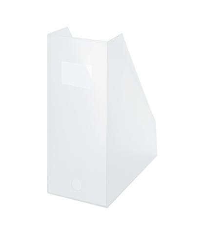 <title>フライパンやお皿も収納 記念日 ワイドサイズのボックス 吉川国 Like it ファイルボックス ワイド MX-29 ホワイト 幅13×奥行25.3×高さ30.7cm</title>