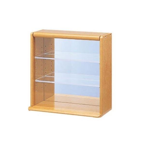 大切なコレクションを美しくディスプレイ ナカバヤシ 国産品 コレクションケース LS 安売り ライトブラウン CCM-001