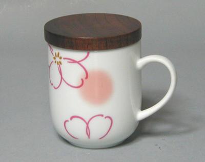 桜吹きピンク 茶こし付茶々マグ マグカップ 食器 和食器 陶器 和風 正規品 緑茶 お茶 かわいい コーヒー 美濃焼 おしゃれ 公式 日本茶 紅茶 茶こし付 ハーブティー
