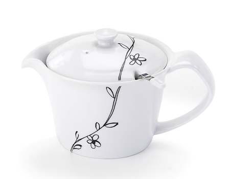 新作販売 ポイポイ茶こし付 お茶の旨みを引き出せる 美味しく淹れられる 超激安特価 洗いやすい かれん ポイポイMVポット 黒