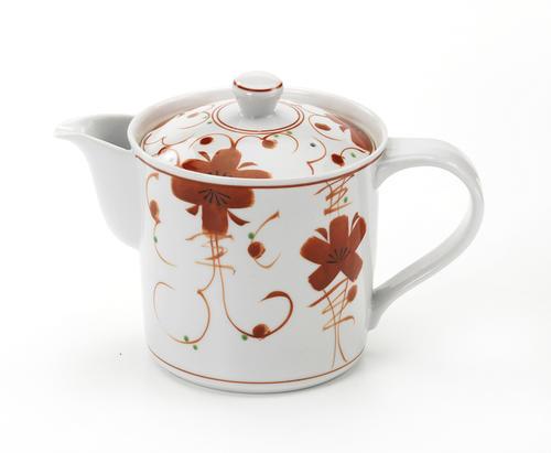 お茶の美味しさを引き出すうまちゃポット ツタ花 ◆在庫限り◆ 大 MHポット 値引き