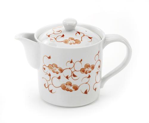 お茶の美味しさを引き出すうまちゃポット 休み ツタ梅 流行のアイテム MHポット 大