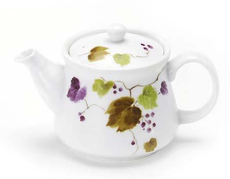 かる~いポット お茶の旨みを引き出せる 美味しく淹れられる 結婚祝い かるがるIPポット 期間限定送料無料 山ぶどう
