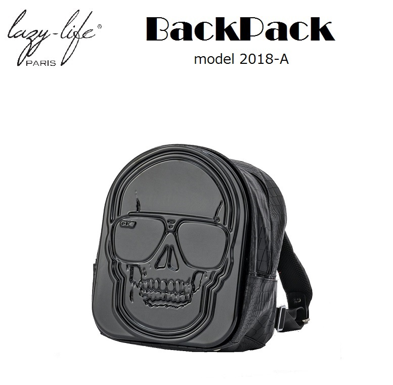 Backpack バックパック[LAZY LIFE PARIS]model 2018-Aタイプ