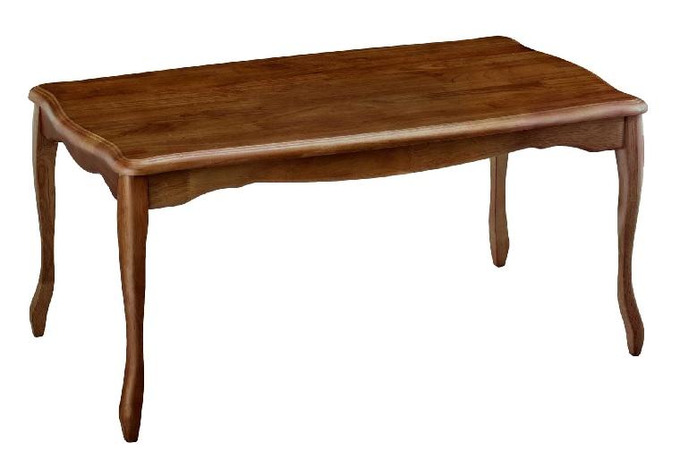 センターテーブル[クレイン3017]2色対応BR/LO:W900×D500×H420mm【送料無料】