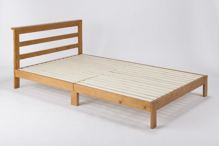 チョイ宮付きシングルベッド[フレーム本体]Bearベアー幅99×長さ203.5×高さ75(mh40)cm【送料無料】