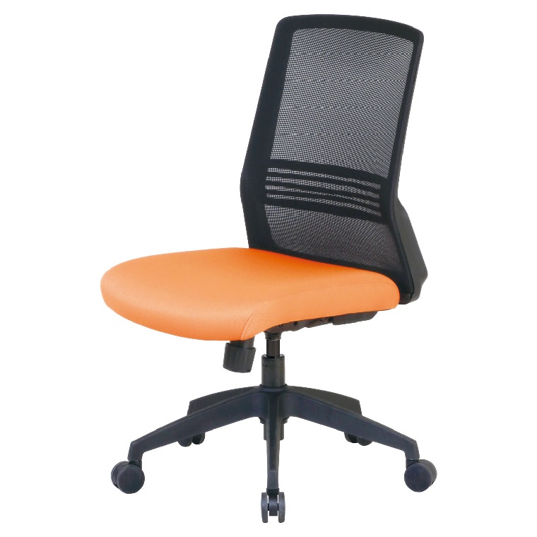 テレワークチェア デスクチェア オフィスチェア 回転椅子 CK02 メッシュチェア 【肘無し】 W495×D580×H915~995(SH410~490mm 組み立て