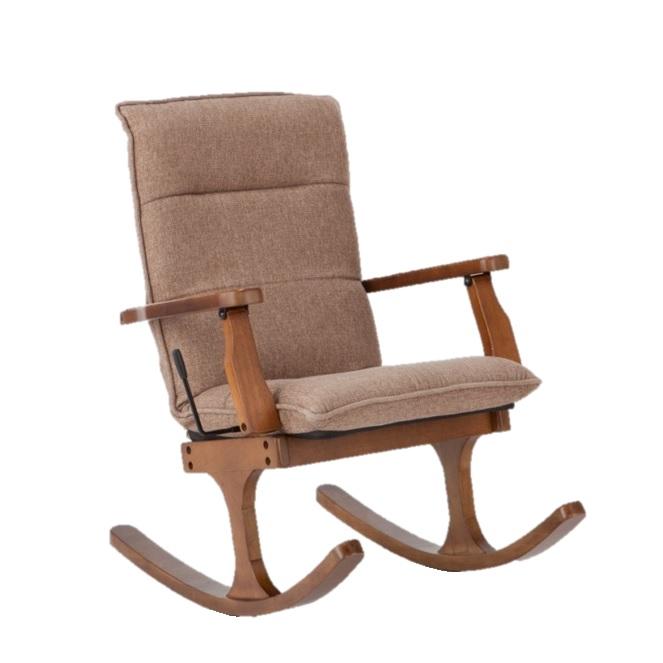 ロッキング高座椅子 ロッキー W660×D760~1040×H630~860×SH380mm 組み立て【送料無料】