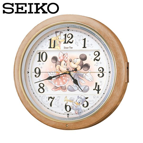 セイコー SEIKO 電波掛け時計 FW561A ディズニータイム からくり時計 電波時計 ミッキー ミニー SEIKO CLOCK セイコークロック 暮らしの幸便