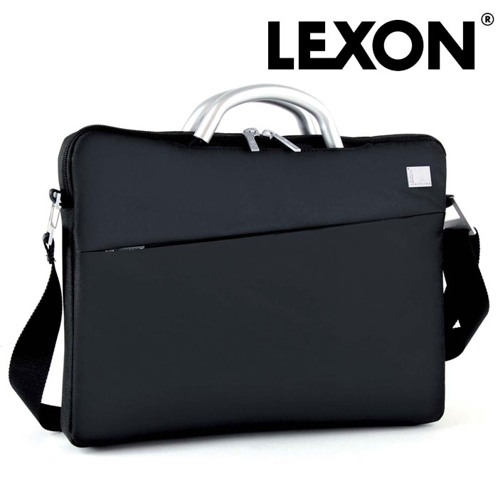LEXON インナーラップトップバッグ LN362N レクソン かばん バッグ メンズ 男性用 男 紳士 パソコン ノートパソコン フランス 仏 デザイナーズ 軽い 収納 保証 仕分け 間仕切り 黒 ブラック ビジネス 出張 仕事用 暮らしの幸便