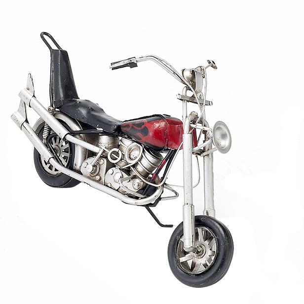 ブリキのおもちゃ ブリキおもちゃ ブリキ バイク バイクのおもちゃ バイクおもちゃヴィンテージバイク ビンテージバイクアメリカン雑貨 アンティークトイモーターサイクル【ファイヤー】