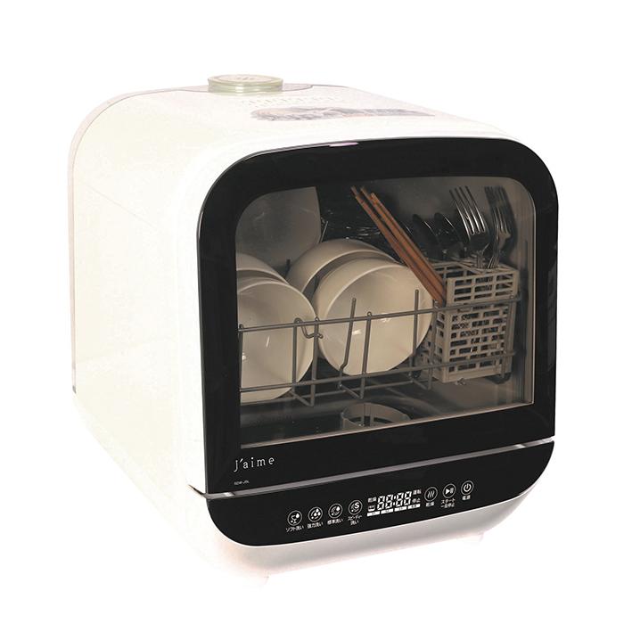 食器洗い乾燥機 SDW-J5L (W) ホワイト【送料無料】(※沖縄・離島除く)【コンビニ受取不可】- 【食洗機】【乾燥機】【食器】【食器洗い器】【工事不要】