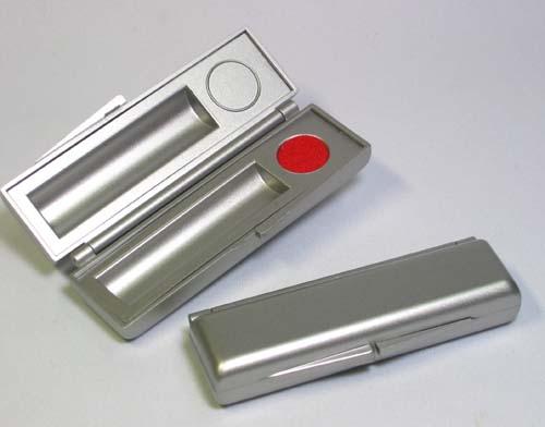 オシャレな樹脂ケース 正規逆輸入品 実印 10ミリ~12ミリ 対応しております シルバーケース 認印 銀行印対応 セール商品