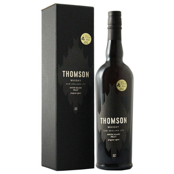 THOMSON トムソン サウスアイランド ピート 専用化粧箱入り ニュージーランド 700ml 46%