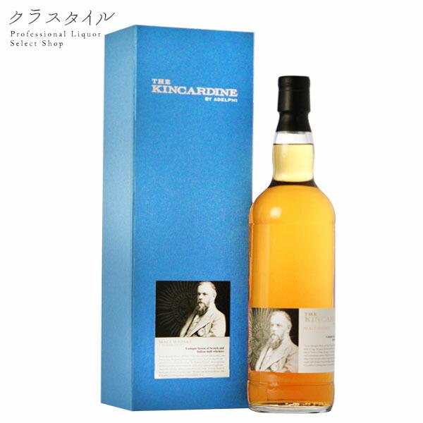 キンカーディン 7年熟成 アデルフィブレンデッド インディアンモルト スコッチ ウイスキー 700ml 52.9%