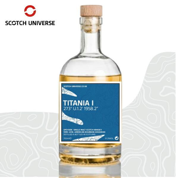 スコッチ ユニバース チタニア 1 TITANIA I 700ml 51.3% トーモア ウイスキー ウィスキー スペイサイド シングルモルト シリーズ